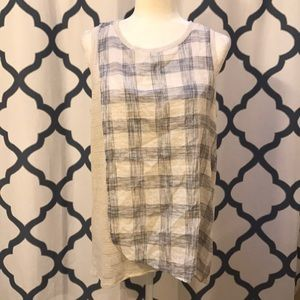 Vince Camuto Layered Tank